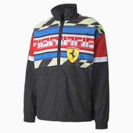Scuderia Ferrari Woven Men's Motorsports Jacket