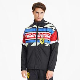 Scuderia Ferrari Men's Woven Jacket