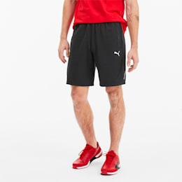 Scuderia Ferrari Lightweight Men's Sweat Shorts, Puma Black, small