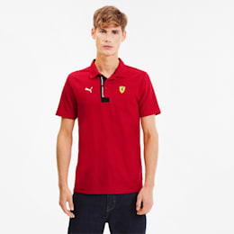 Scuderia Ferrari Men's Polo, Rosso Corsa, small-SEA