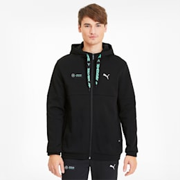 Mercedes Men's Hoodie, Puma Black, small