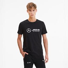 Mercedes Logo Men's Tee, Puma Black, small