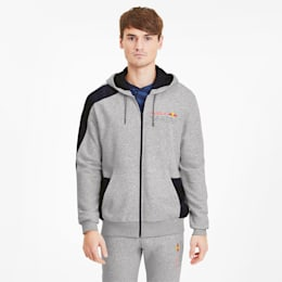 Red Bull Racing Herren Sweatjacke mit Kapuze, Light Gray Heather, small