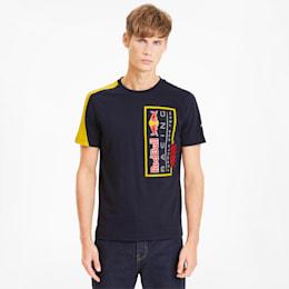 レッドブル RBR ロゴ Tシャツ+ 半袖, NIGHT SKY, small-JPN