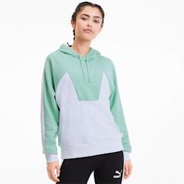 Tailored for Sport Damen Hoodie, Mist Green, small