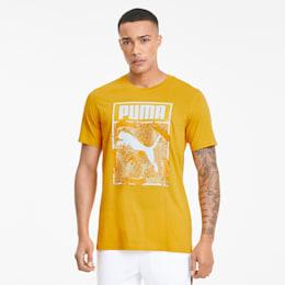 Camiseta con logo adornado para hombre