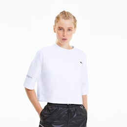 Evide Formstrip Women's Cropped Tee