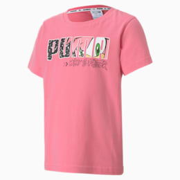 Camiseta PUMA x SONIC para niños