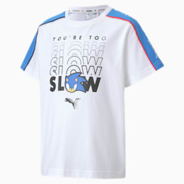 キッズ PUMA x SEGA  アドバンス Tシャツ 半袖, Puma White, small-JPN