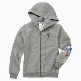 PUMA x SONIC Hooded Boys' Sweat Jacket