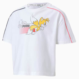 T-Shirt PUMA x SONIC pour fille, Puma White, small