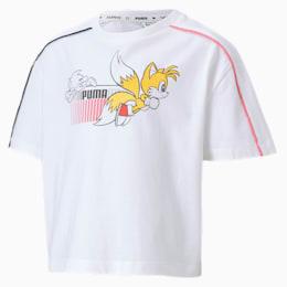 キッズ ガールズ PUMA x SEGA Tシャツ 半袖