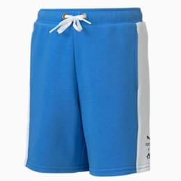 PUMA x SEGA Boys' Shorts, Palace Blue, small-SEA
