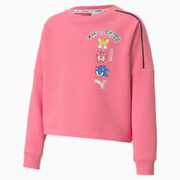 PUMA x SONIC Girls' Crewneck Sweatshirt