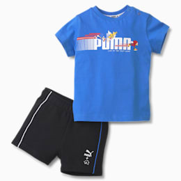 PUMA x SONIC Baby Set, Palace Blue, small