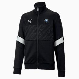 BMW M Motorsport Kids' T7 Track Jacket, Puma Black, small