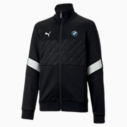BMW M Motorsport T7 Kinder Trainingsjacke, Puma Black, small