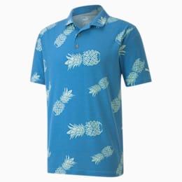 Sweetness Men's Polo, Ibiza Blue, small