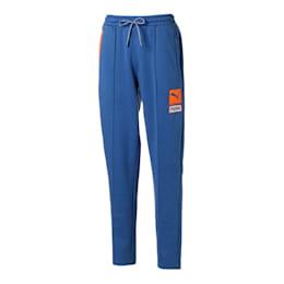 Pantaloni da uomo lavorati a maglia a blocchi di colore, Galaxy Blue, small