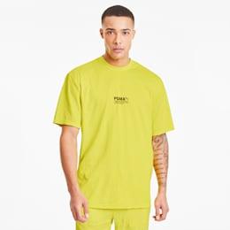 T-Shirt Avenir avec effet froissé pour homme, Meadowlark, small