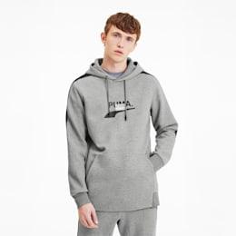 Avenir hoodie voor heren, Medium Gray Heather, small