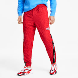 Avenir Woven Men's Sweatpants, High Risk Red, small-SEA