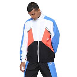 PUMA TFS Woven Jacket, Palace Blue, small-IND