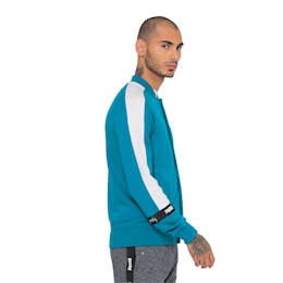 VK Sweat Jacket, Teal Green, small-IND