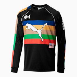 PUMA x FASHION GEEK Men's Soccer Jersey, Puma Black, small