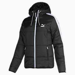 Damska pikowana kurtka Classics T7, Puma Black, small