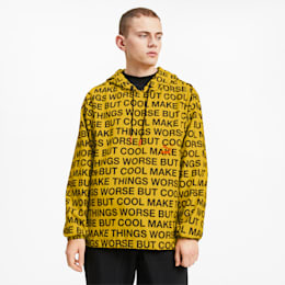 PUMA x RANDOMEVENT AOP Windbreaker, Puma White-AOP, small