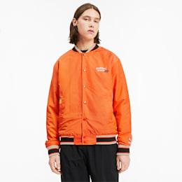 PUMA x RANDOMEVENT ユニセックス ボンバージャケット, Vermillion Orange, small-JPN