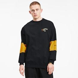 PUMA x RANDOMEVENT Herren Sweatshirt, Puma Black, small