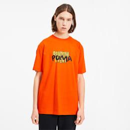 PUMA x RANDOMEVENT T-Shirt, Vermillion Orange, small