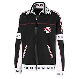 PUMA x JAHNKOY XTG Track Jacket, Puma Black, small
