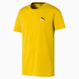 Classics Embroidered Men's Tee, Sulphur, small