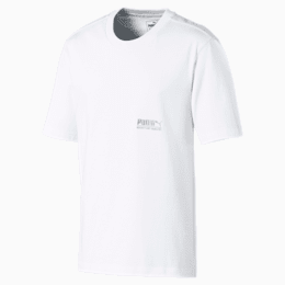 Heavy Classics Short Sleeve Men's Tee, Puma White, small