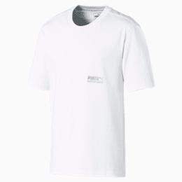 T-shirt de manga curta Heavy Classics para homem, Puma White, small