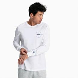 XTG Trail Herren Langarm-Shirt, Puma White, small
