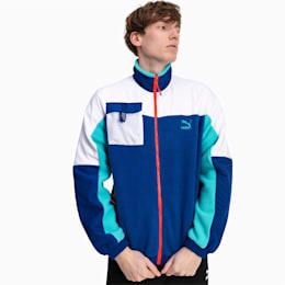 XTG Trail Woven Full Zip Men's Jacket, Galaxy Blue, small