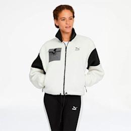 XTG Trail Women's Sherpa Jacket, Whisper White, small