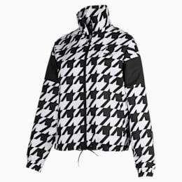 Trendy Woven trainingsjack voor dames
