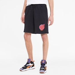 PUMA x THE HUNDREDS Men's Shorts, Puma Black, small