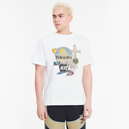 PUMA x RHUDE Men's Graphic Tee, Puma White, small-SEA