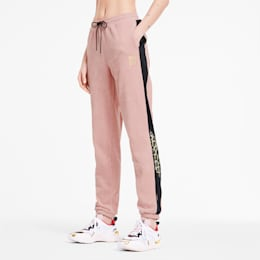 PUMA x CHARLOTTE OLYMPIA Tailored for Sport Women's Track Pants, Silver Pink, small