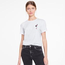 T-Shirt PUMA x CHARLOTTE OLYMPIA pour femme, Puma White, small