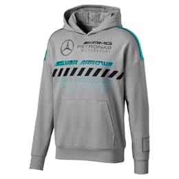 Mercedes AMG Petronas Men's Hoodie, Mercedes Team Silver, small