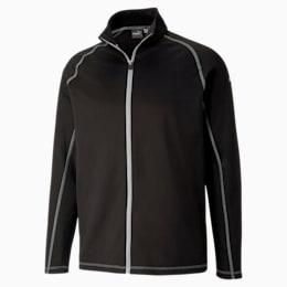 Fairway Full Zip Men's Golf Sweater, Puma Black, small