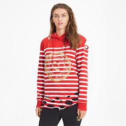 PUMA x BALMAIN Women's Striped Hoodie
