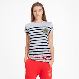 PUMA x BALMAIN DISTRESSED Tシャツ 半袖, Puma White, small-JPN